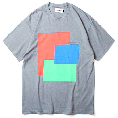 [마치위드]FRAMES TEE Steel Blue