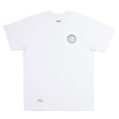 [히스터]CHROME LOGO T-SHIRTS WHITE