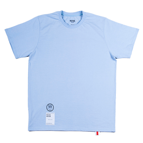 [히스터]NUMBER T-SHIRTS SKYBLUE