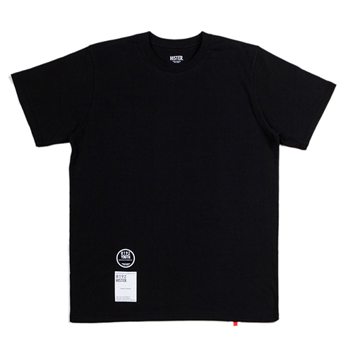[히스터]NUMBER T-SHIRTS BLACK