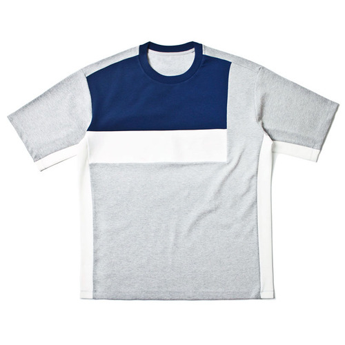 [레이지]SIDE COLOR LINE T-SHIRTS GREY