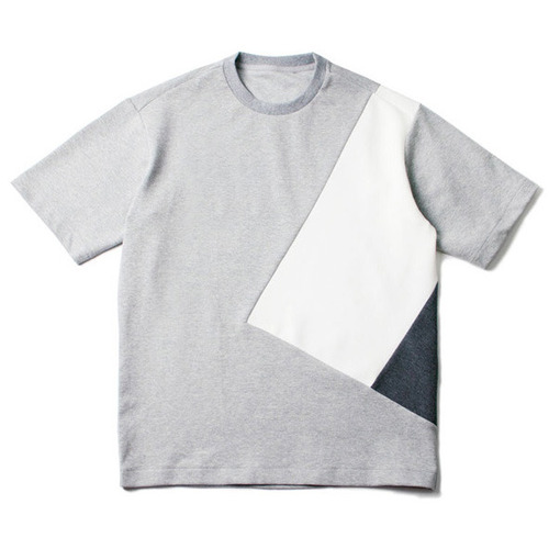 [레이지]COLOR LINE T-SHIRTS N.GREY