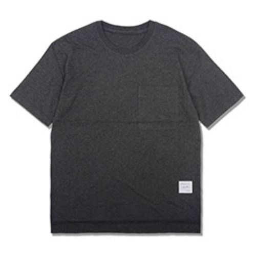 [코이그레이]oversized pocket T-shirts CHARCOAL