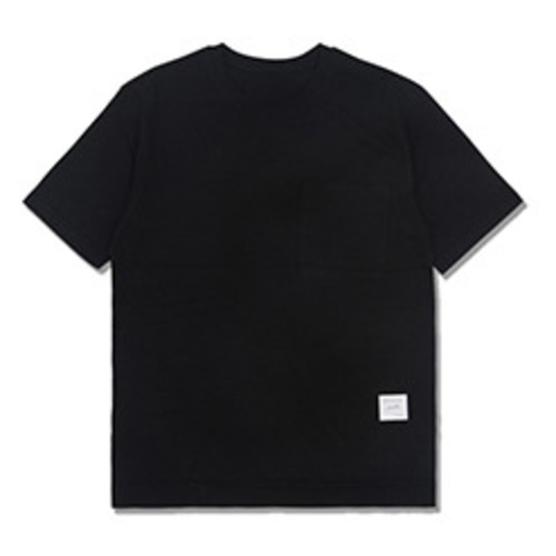 [코이그레이]oversized pocket T-shirts BLACK
