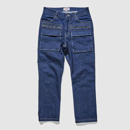 [트웰라이브]UTIL CARGO DENIM PANTS INDIGO