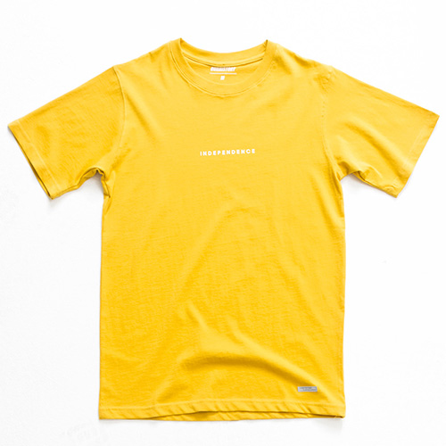 [아워히스토리]Vardik T-shirt_Yellow