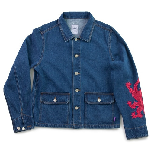 [예스아이씨]Patched Denim Jacket