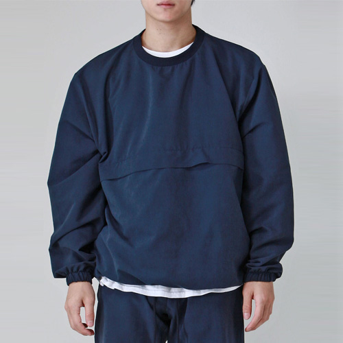 [테이크이지] BRUSHED WINDCHEATER (NAVY)