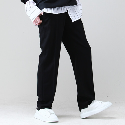 [테이크이지] WIDE SLACKS (BLACK)