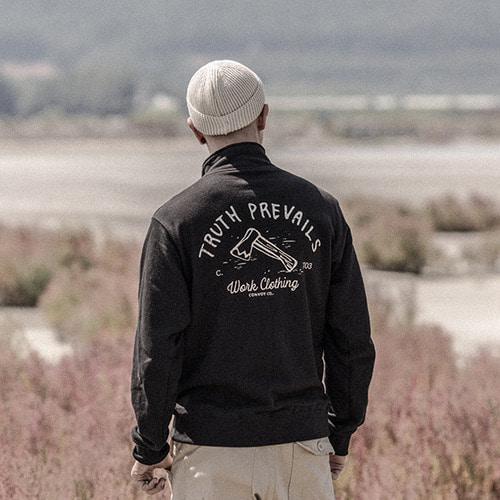 [콘보이] CONVOY ax Half Zip up