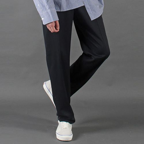 [테이크이지] WIDE SLACKS (NAVY)