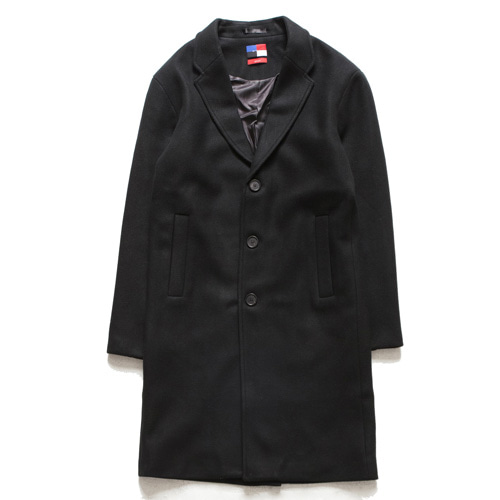[아워히스토리]Single Long Coat_Black