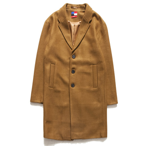 [아워히스토리]Single Long Coat_Brown