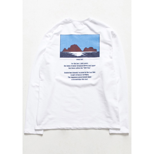 [아워히스토리]Dokdo Long-Sleeve_White