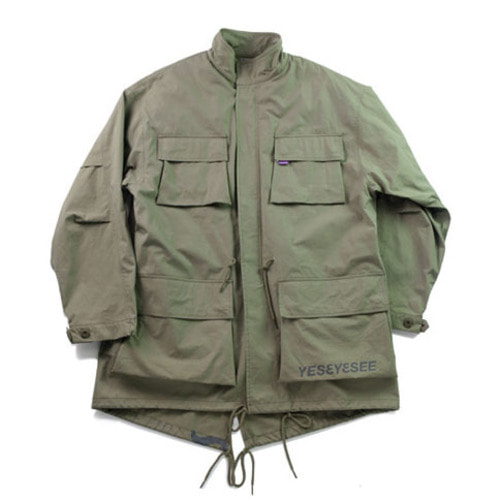 [예스아이씨]Y.E.S Multi Fishtail Parka Olive