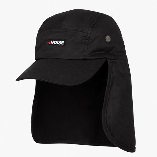 [디쿠마] NOISE FLAP CAP_BLACK
