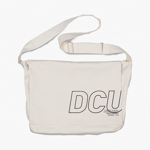 [디쿠마] DCU MAIL BAG_IVORY