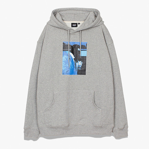 [디쿠마] NOISE SWEAT HOODIE_GREY