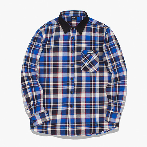 [디쿠마] MADRAS CHECK SHIRT_BLUE