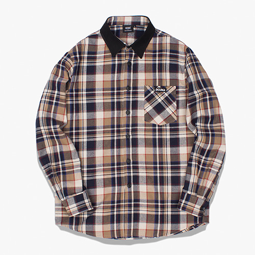 [디쿠마] MADRAS CHECK SHIRT_BEIGE