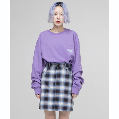 [아워히스토리]OHST Long Sleeve T-shirt_Purple