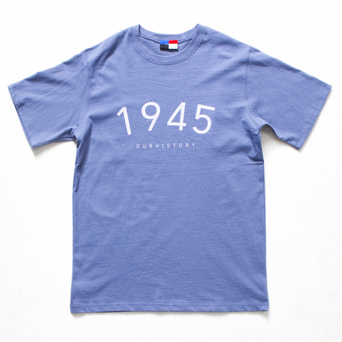 [아워히스토리]Day Of 1/2 T-shirt_Blue