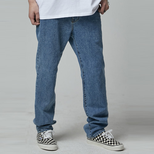 [테이크이지] BLEACHED STRAIGHT DENIM