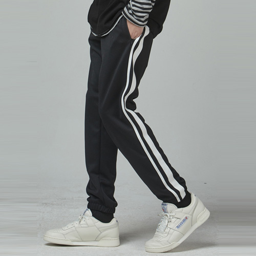 [테이크이지] JOGGING TRACK PANTS (BLACK)
