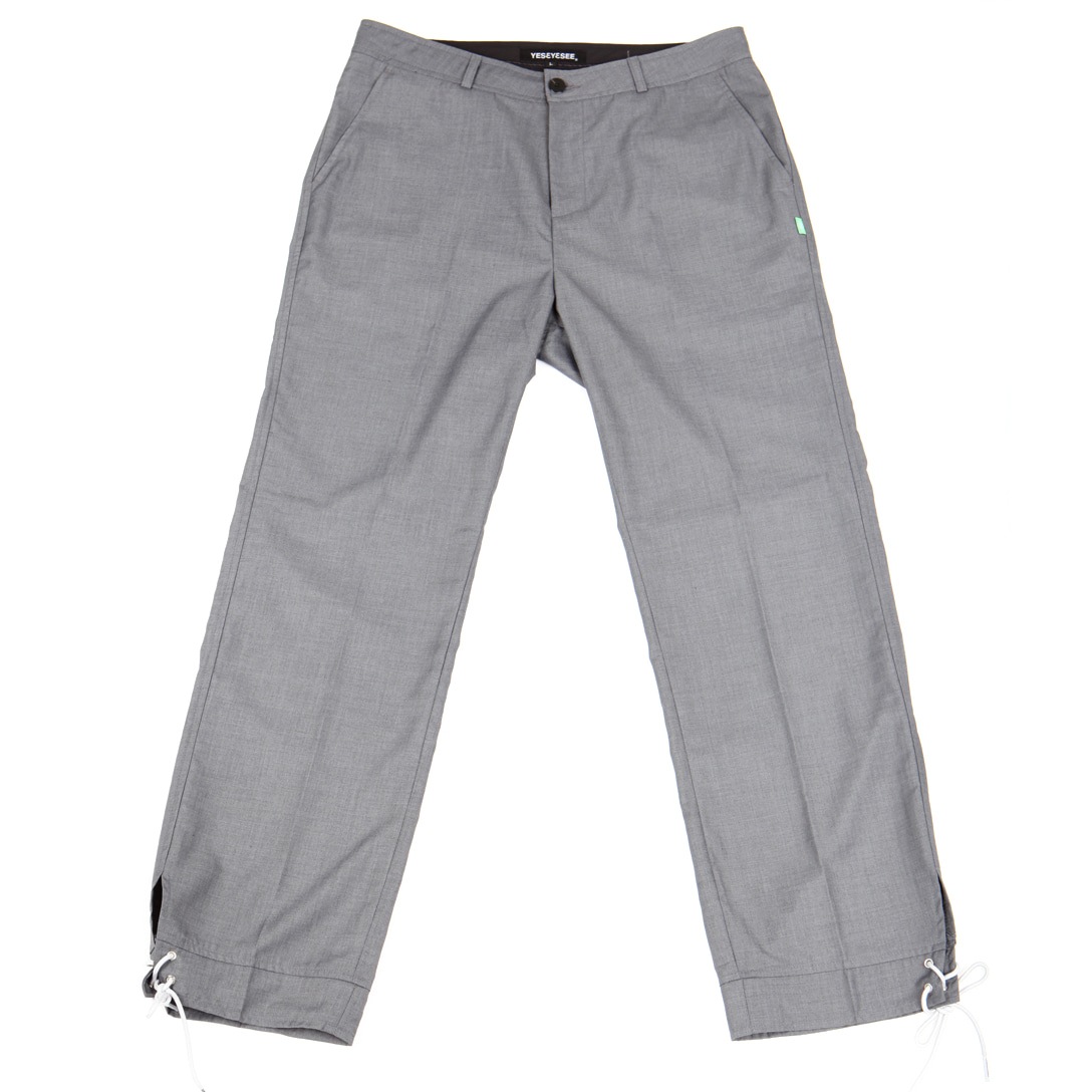 [예스아이씨]Vented Trouser Gray
