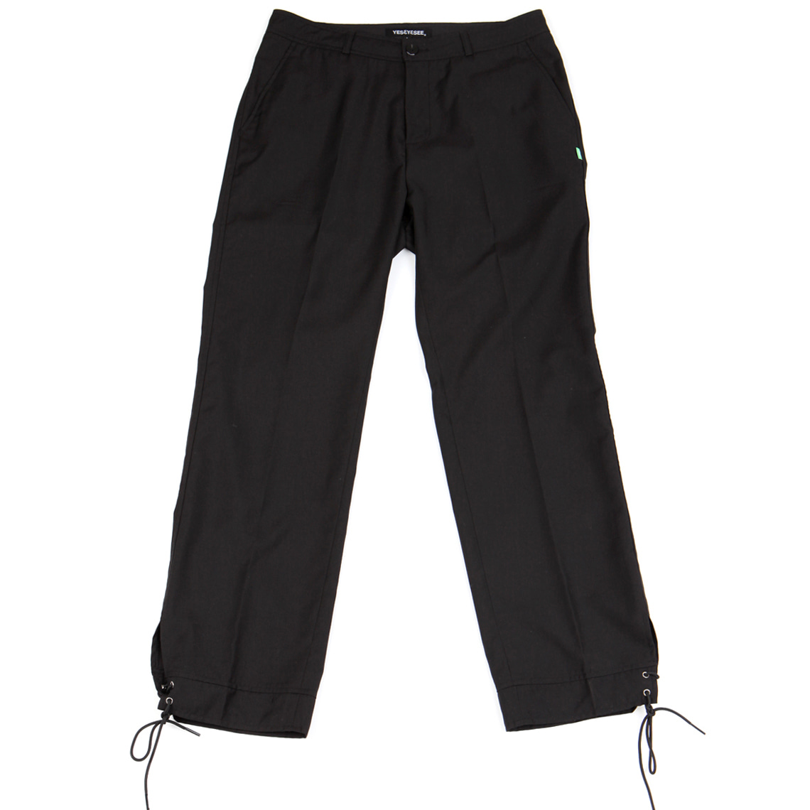 [예스아이씨]Vented Trouser Black