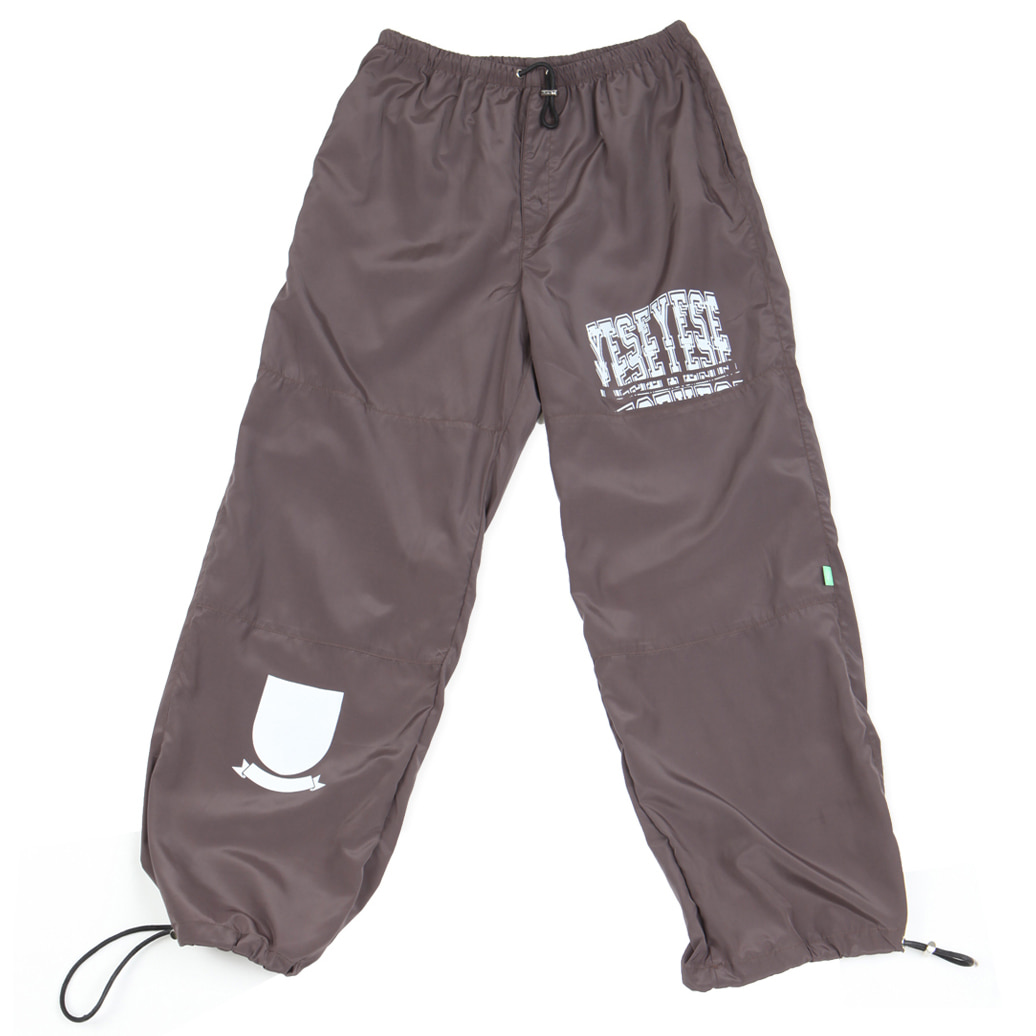 [예스아이씨]Track Pants Brown