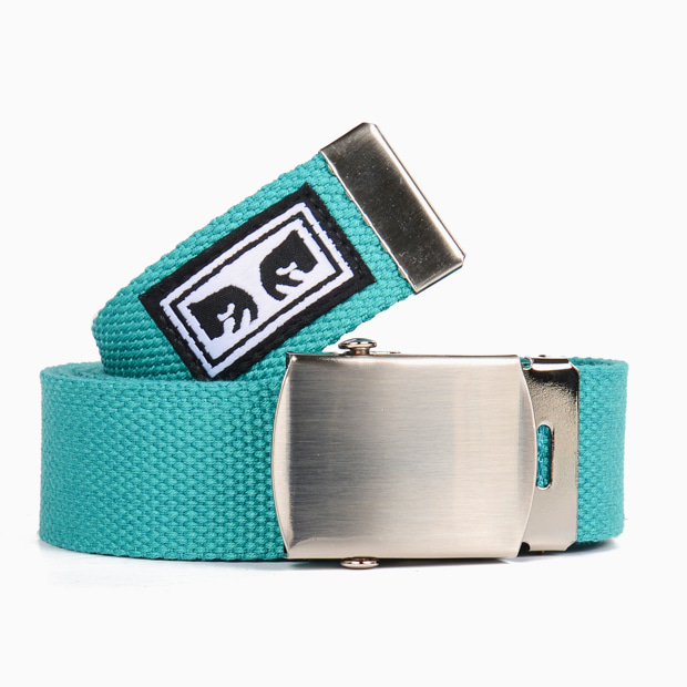 [오베이]BIG BOY WEB BELT TEAL