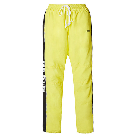 [필이너프]PIPING TRACK PANTS YELLOW
