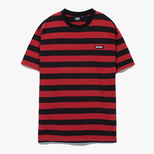 [디쿠마] PL STRIPE TEE_RED