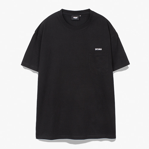 [디쿠마] PL POCKET TEE_BLACK