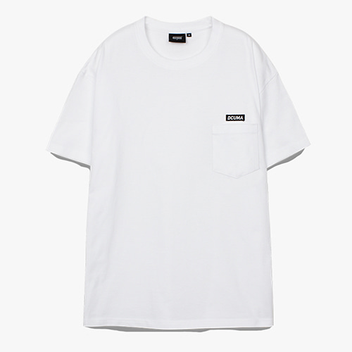 [디쿠마] PL POCKET TEE_WHITE