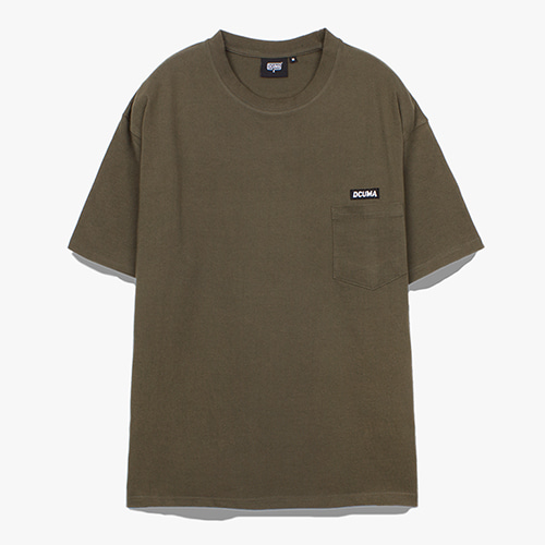 [디쿠마] PL POCKET TEE_OLIVE