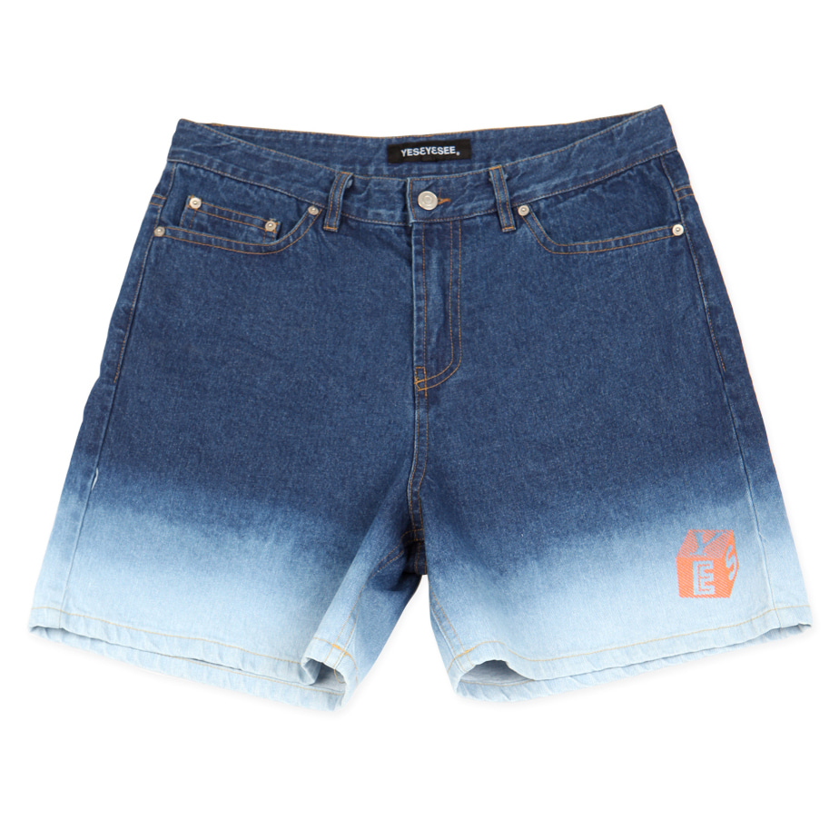 [예스아이씨]Fondue Denim Shorts