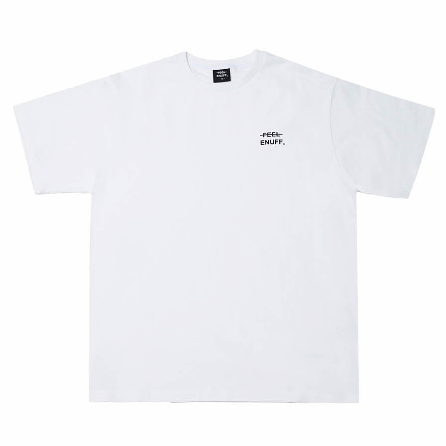 [필이너프]LOGO T-SHIRTS WHITE