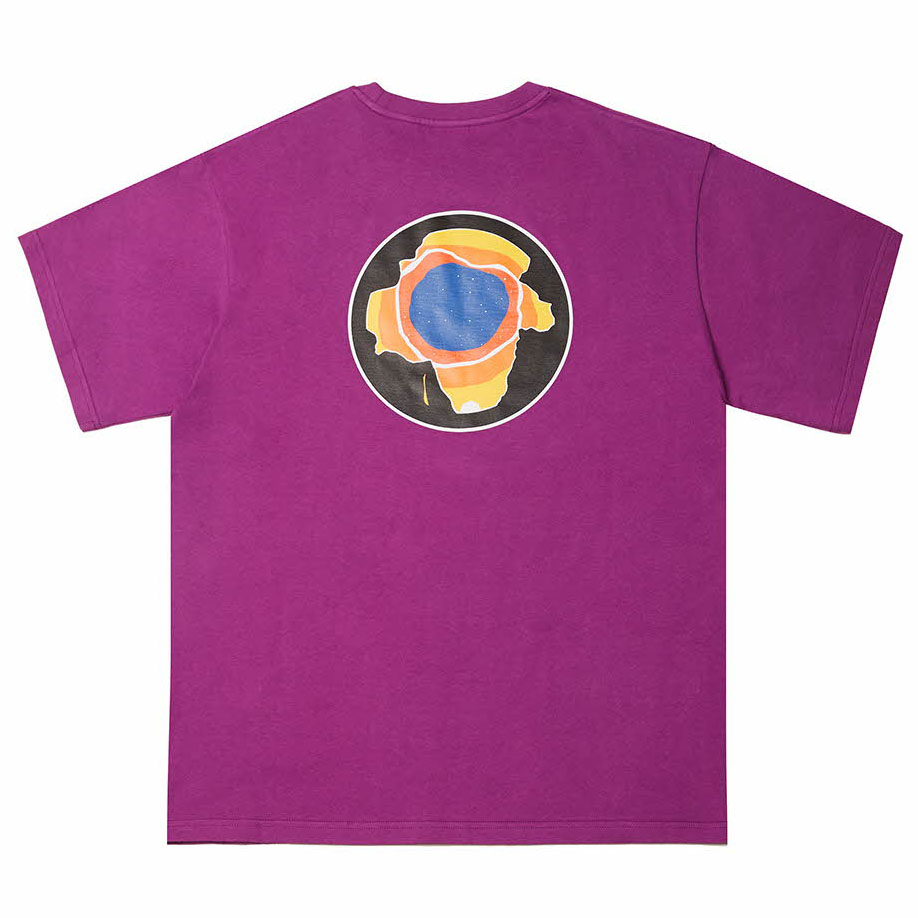 [필이너프]EARTH T-SHIRTS PURPLE