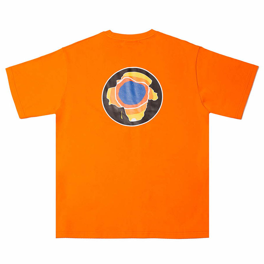 [필이너프]EARTH T-SHIRTS ORANGE