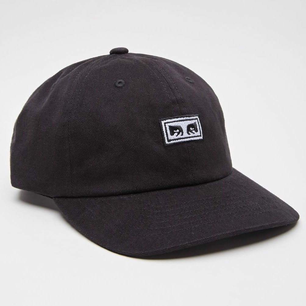 [오베이]SUBVERSION 6 PANEL SNAPBACK - BLACK