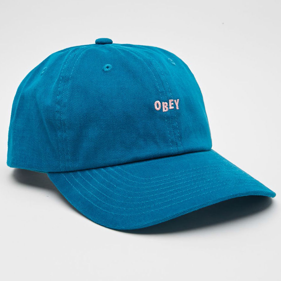 [오베이]CUTTY 6 PANEL SNAPBACK - DEEP TEAL