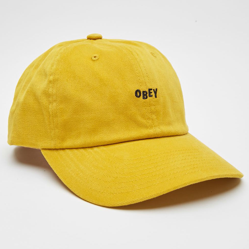 [오베이]CUTTY 6 PANEL SNAPBACK - OLD GOLD