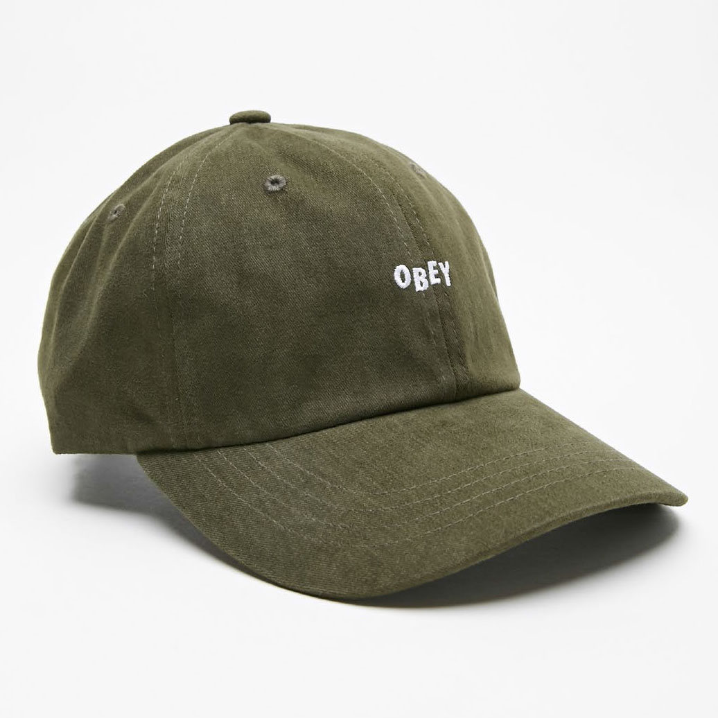 [오베이]JUMBLE BAR III 6 PANEL HAT - ARMY