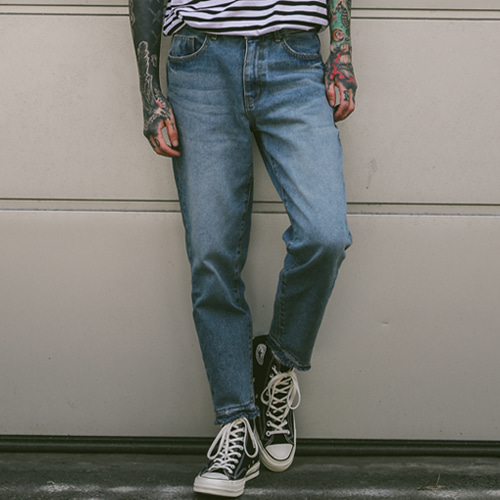 [테이크이지]RAW EDGE STONE DENIM