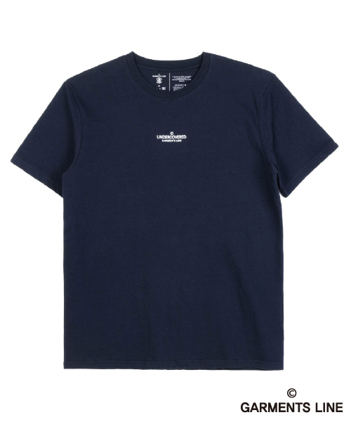 [페이탈리즘][가먼츠라인] #G016 UNDERCOVERED Logo T-shirt (NAVY)