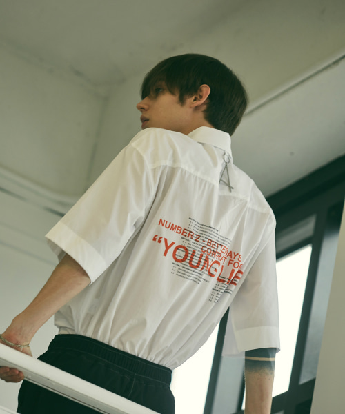 [에드]YOUNG LIFE STANDARD SHIRTS WHITE