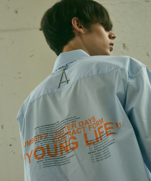 [에드]YOUNG LIFE STANDARD SHIRTS SKY BLUE
