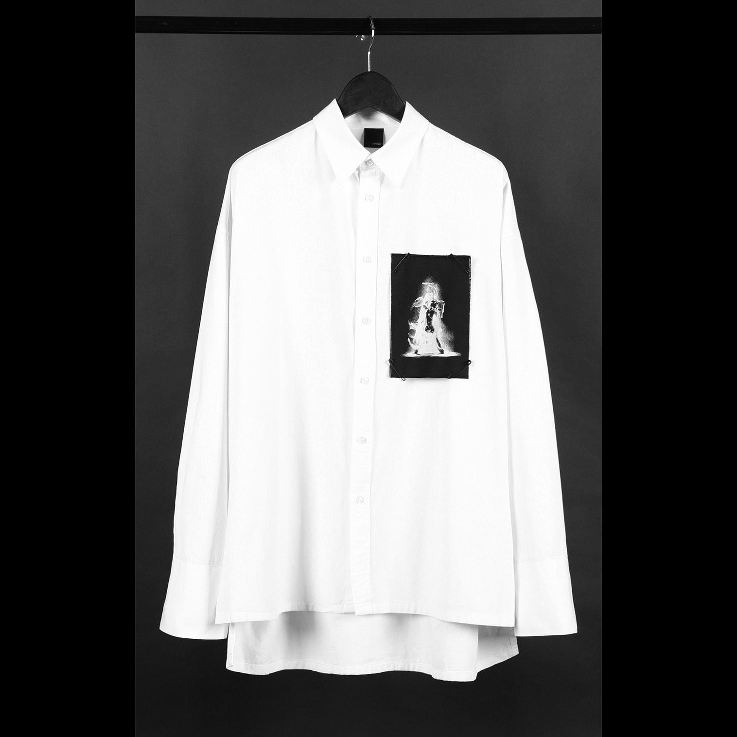 [디베르그]Asura Patch Shirts [Oversized]